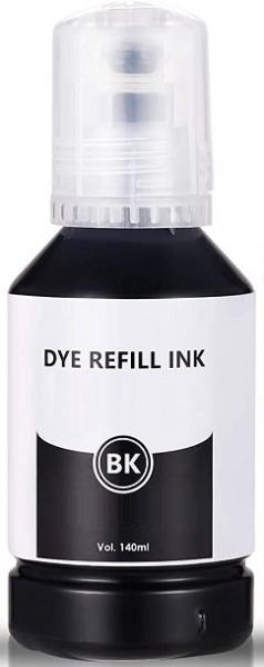 140 ml Nachfülltinte black für Epson Ecotank 101, 102, 105, 106, 113