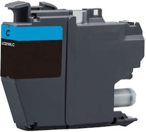 XL Druckerpatrone wie Brother LC-3211 C, LC-3213 C Cyan