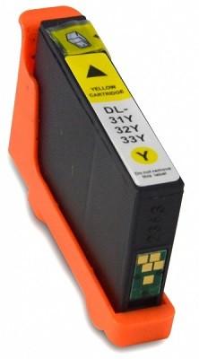 Druckerpatrone wie Dell 31, 33 - 592-11810, 592-11815, 592-11818, 592-11822 Yellow