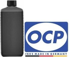 500 ml OCP Tinte BKP89 schwarz, pigmentiert für HP Nr. 300, 301, 336, 337, 339, 350, 364, 901, 920