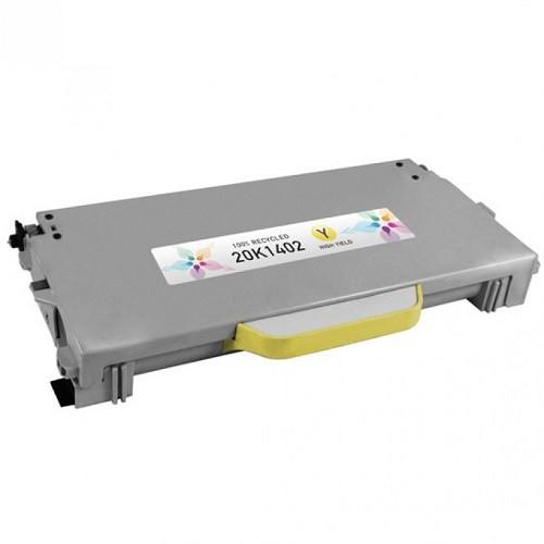 Tonerkartusche für Lexmark C510, X510, X512 Yellow 20K1402