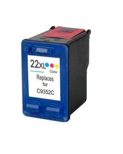 Refill Druckerpatrone HP 22 XL color, dreifarbig - C9352CE, C9352AE