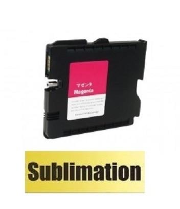 Kompatible Druckerpatrone Ricoh GC 41 XL magenta, 405763, 405767 mit SUBLIMATIONSTINTE