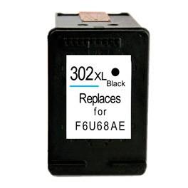 Refill Druckerpatrone HP 302 XL schwarz, black - F6U68AK, F6U66AE