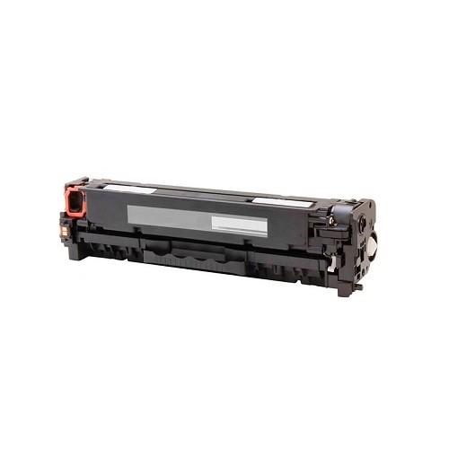 Tonerkartusche wie HP CC530A - 304A Black + Canon Cartridge CRG 718 Black, Schwarz