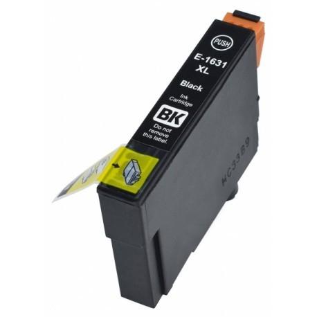 Kompatible Druckerpatrone Epson T1631, T16 XL schwarz, black
