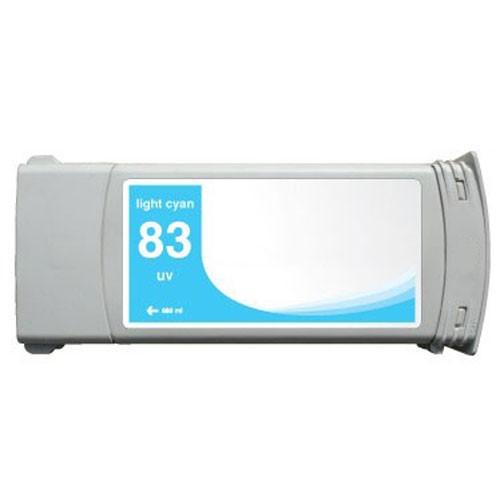 Refill Druckerpatrone HP 83 light-cyan - UV C4944A