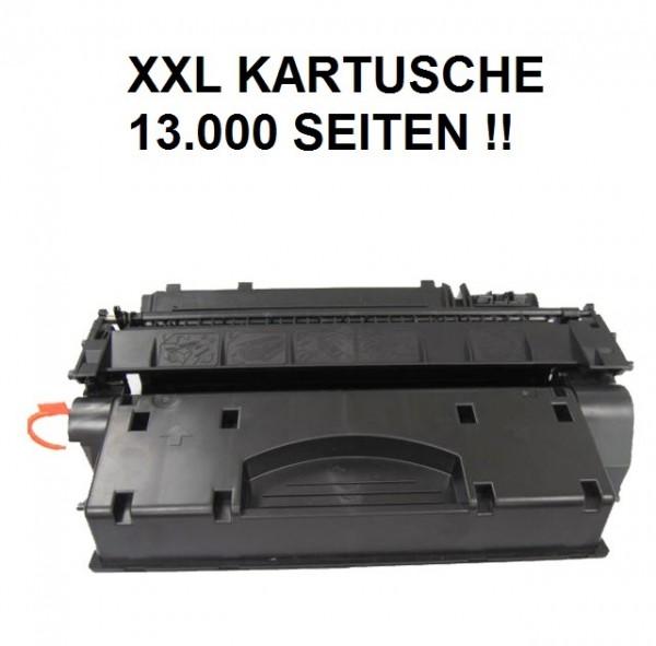 XXL Tonerkartusche wie HP CF280X, 80X, Canon Cartridge CRG 720 XXL black, schwarz - 13.000 Seiten