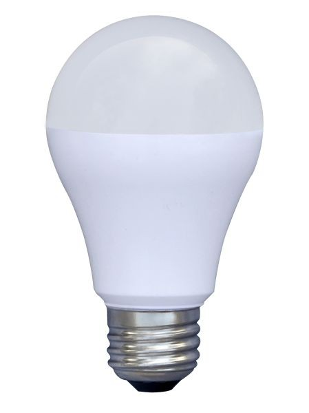 7 Watt LED Lampe in Birnenform, E27, Lichtfarbe warmweiß