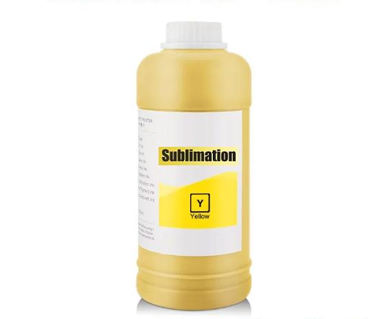 500 ml Dye Sublimationstinte yellow - für Epson, Ricoh, Mutoh, Mimaki, Roland...