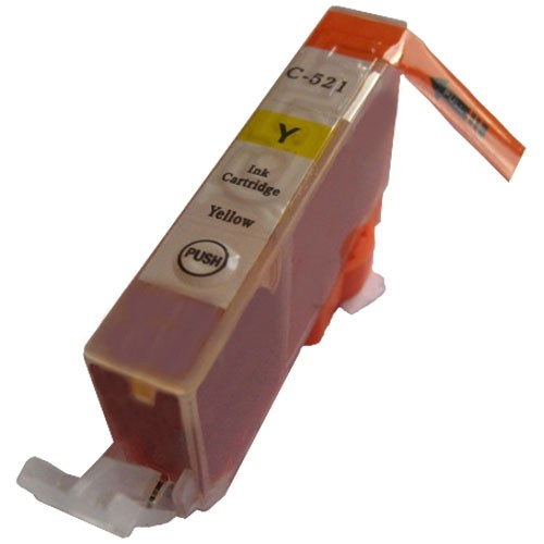 Kompatible Druckerpatrone Canon CLI-521 Yellow, 2936B001