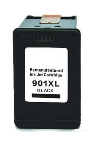 Refill Druckerpatrone HP 901 XL schwarz, black - CC654AE, CC653AE