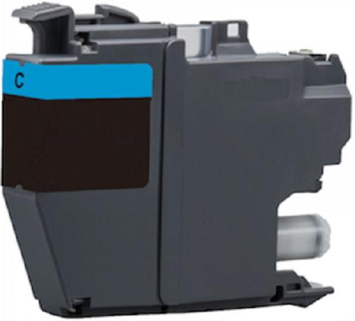 XL Druckerpatrone wie Brother LC-3217 C, LC-3219 XL-C Cyan