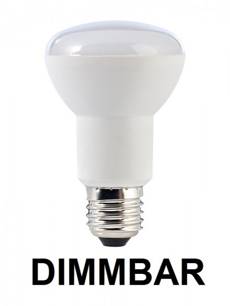 7 Watt Led Lampe In Spotform E27 R63 Warmweiß 2700k Dimmbar