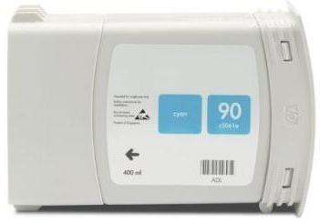 Refill Druckerpatrone HP 90 XL cyan C5061A