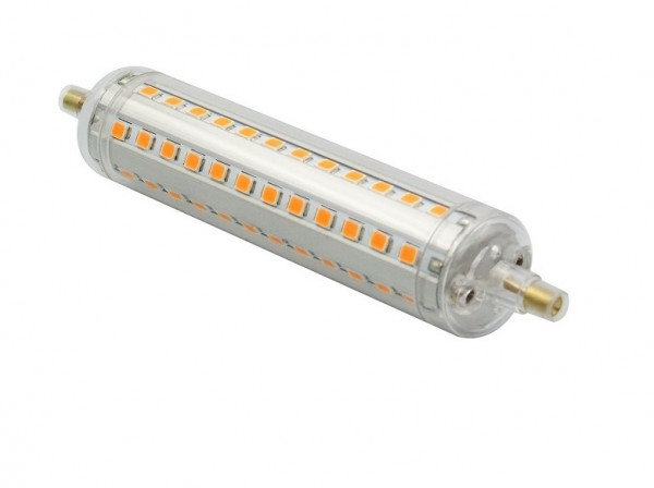 10 Watt R7S LED Lampe - 22 x 118 mm - warmweiß - nicht dimmbar | Die ...