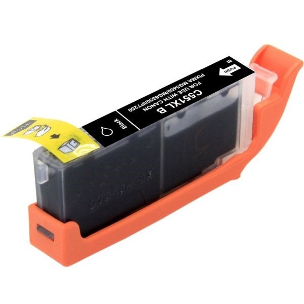 Druckerpatrone wie Canon CLI-551 XL Schwarz, Black, 6443B001