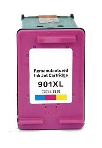 Refill Druckerpatrone HP 901 XL color, dreifarbig - CC656AE