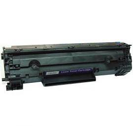 Tonerkartusche wie HP CB436A, 36A, Canon Cartridge CRG 725 black, schwarz