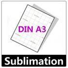 100 Blatt Sublimationspapier DIN A3