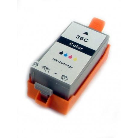Kompatible Druckerpatrone Canon CLI-36 Color, dreifarbig, 1511B001