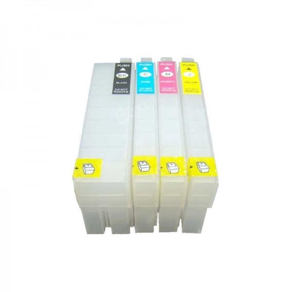 Wiederbefüllbare QUICKFILL-FILL-IN Patronen wie Epson T3591-T3594, T35 XL mit Auto Reset Chips