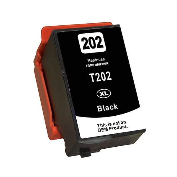 Druckerpatrone wie Epson 202 XL Schwarz, Black