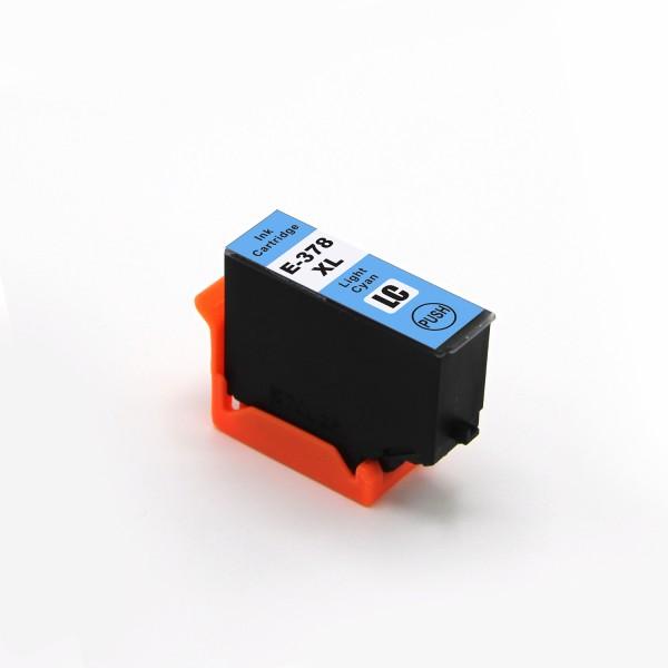Druckerpatrone wie Epson 378 XL Light-Cyan