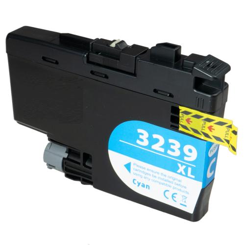 Kompatible Druckerpatrone Brother LC-3239 XL-C Cyan