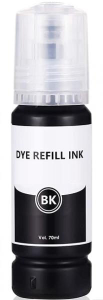 70 ml Nachfülltinte black für Epson Ecotank 104, 106