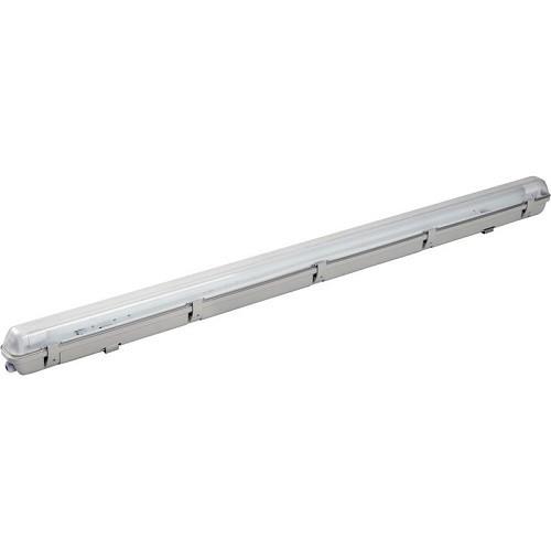LED-Wannenleuchte + LED Röhre 150 cm, Lichtfarbe Tageslichtweiß 6000K, High Lumen