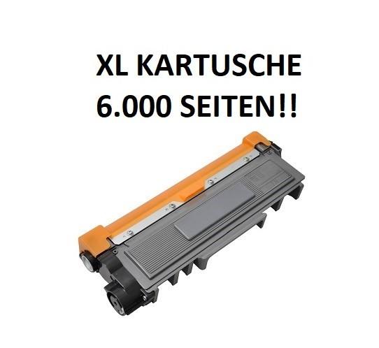 XL Tonerkartusche wie Brother TN-2420 black, schwarz - doppelte Kapazität für 6.000 Seiten