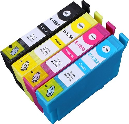 Kompatibles Druckerpatronen-Set Epson T1285 XL - T1281, T1282, T1283, T1284