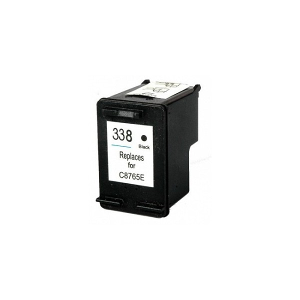 Refill Druckerpatrone HP 338 XL schwarz, black - C8765EE