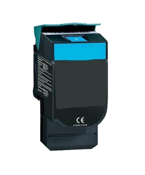 XL Tonerkartusche für Lexmark CS310, CS410, CS510 Cyan - 702HC, 702XC