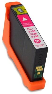 Druckerpatrone wie Dell 31, 33 - 592-11809, 592-11814, 592-11817, 592-11821 Magenta
