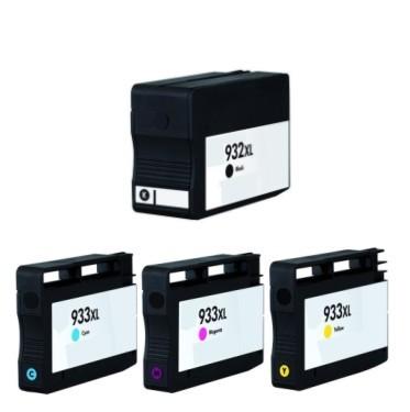 Druckerpatronen Set wie HP 932 XL black & 933 XL cyan, magenta, yellow