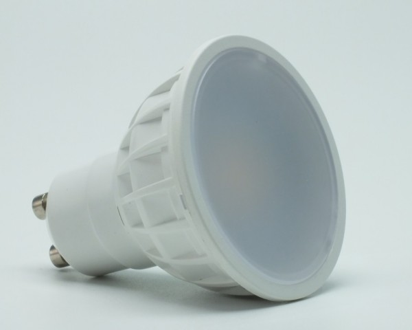 5 Watt LED-Spot GU10, Lichtfarbe Kaltweiß 6000 K - 120° Ausstrahlung