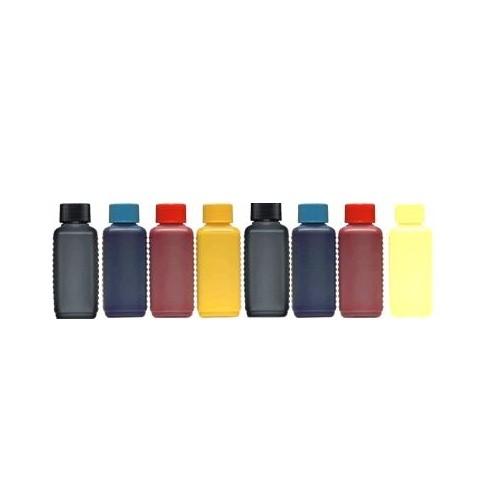 8 Farben Nachfüllset, 8 x 100 ml Photo-Tinten für Epson Stylus Photo R800, R1800