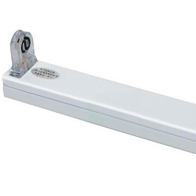 LED Röhrenhalterung mit Fassungen für eine 120 cm LED-Röhre T8 - G13